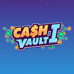 Cash Vault I logo achtergrond
