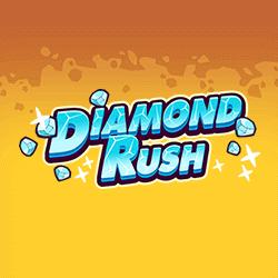 Diamond Rush logo achtergrond