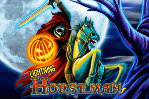 Lightning Horseman logo achtergrond