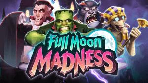 Full Moon Madness logo achtergrond