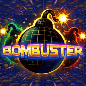 Bombuster logo review