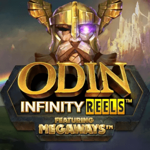 Odin Infinity Reels Megaways logo achtergrond