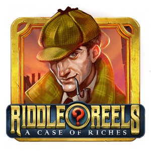 Riddle Reels: A Case of Riches logo achtergrond