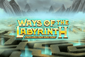 Ways Of The Labyrinth logo achtergrond