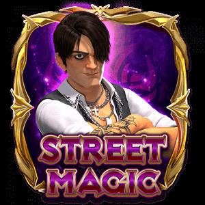 Street Magic logo achtergrond
