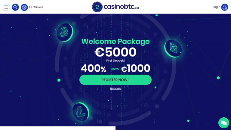 Casinobtc Screenshot 1