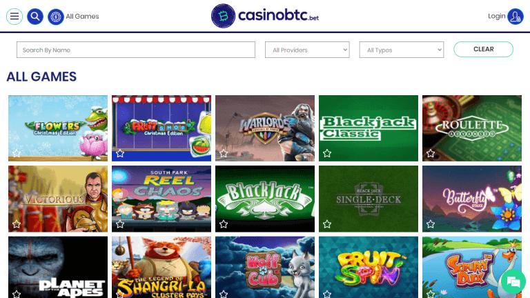 Casinobtc Screenshot 3