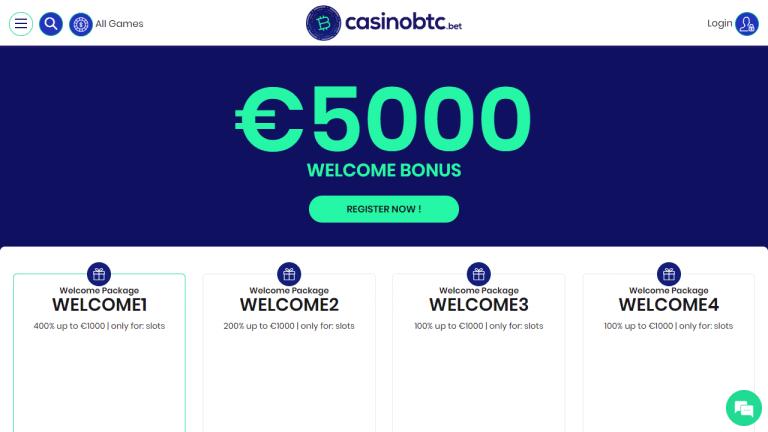 Casinobtc Screenshot 2