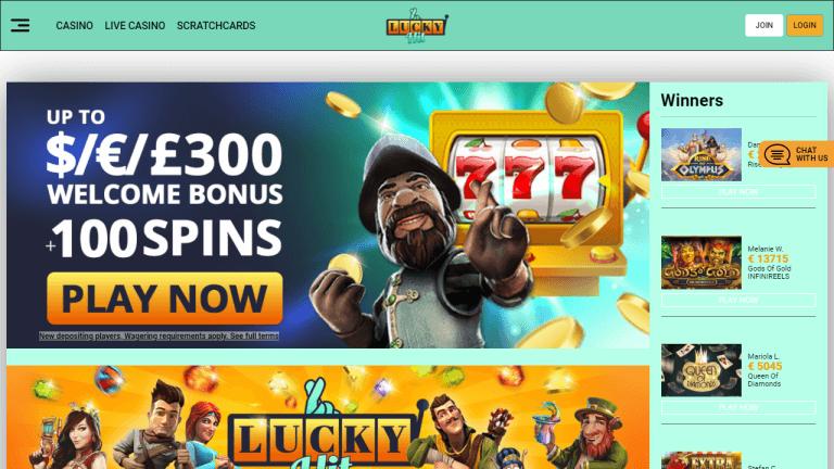 Lucky Hit Casino Screenshot 1