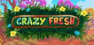 Crazy Fresh logo achtergrond