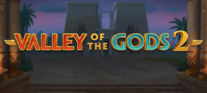 Valley Of The Gods 2 logo achtergrond