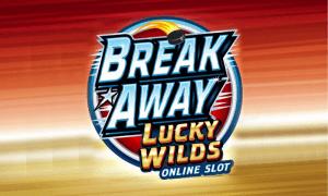Break Away Lucky Wilds logo achtergrond
