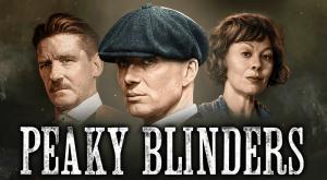 Peaky Blinders logo achtergrond