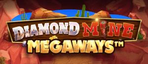 Diamond Mine Megaways logo achtergrond