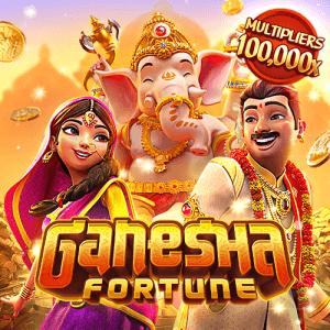 Ganesha Fortune logo achtergrond