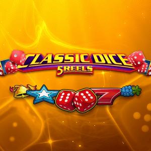 Classic Dice 5 Reels logo achtergrond