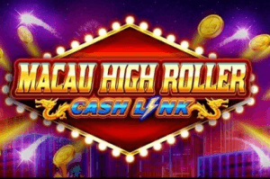 Macau High Roller logo achtergrond