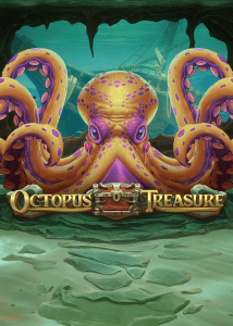 Octopus Treasure logo achtergrond