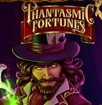 Phantasmic Fortunes logo review