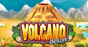 Volcano Deluxe logo achtergrond