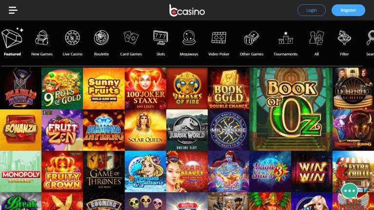 bCasino Screenshot 3