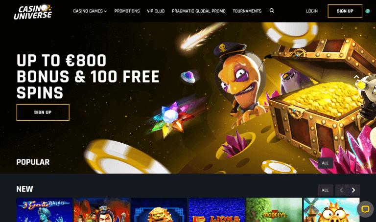 Casino Universe Screenshot 1