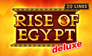 Rise Of Egypt Deluxe logo achtergrond