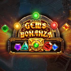 Gems Bonanza logo achtergrond
