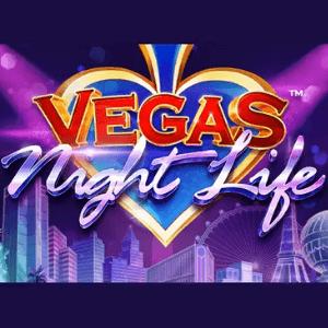 Vegas Night Life logo achtergrond