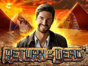 Return Of The Dead logo achtergrond