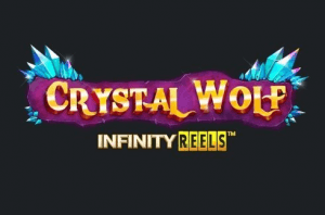 Crystal Wolf Infinity Reels logo achtergrond