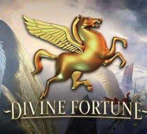 Divine Fortune Megaways logo achtergrond
