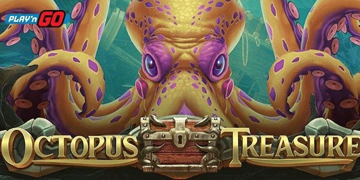Play 'n Go brengt nieuwe Octopus Treasure gokkast uit