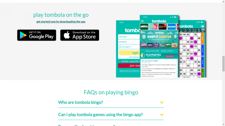 Tombola Screenshot 3