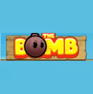 The Bomb logo achtergrond