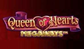 Queen of Hearts Megaways logo achtergrond
