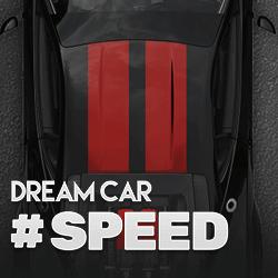 Dream Car Speed logo achtergrond