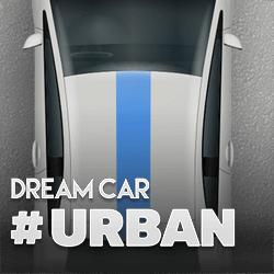 Dream Car Urban logo achtergrond