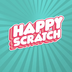 Happy Scratch logo achtergrond