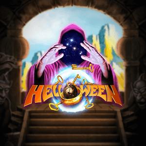 Helloween logo achtergrond