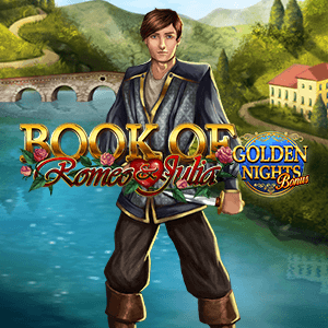 Book Of Romeo and Julia Golden Nights logo achtergrond