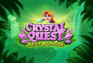 Crystal Quest: Deep Jungle logo achtergrond