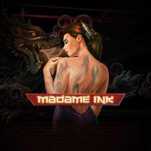 Madame Ink logo achtergrond