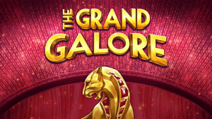 The Grand Galore logo achtergrond