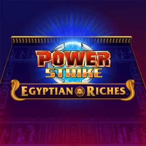 Power Strike Egyptian Riches logo achtergrond