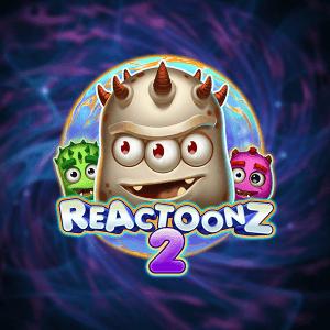 Reactoonz 2 logo achtergrond