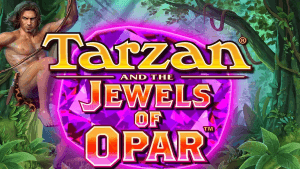 Tarzan and the Jewels of Opar logo achtergrond