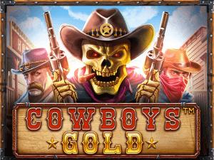 Cowboys Gold logo achtergrond