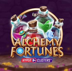 Alchemy Fortunes logo achtergrond