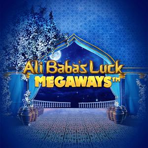 Ali Baba's Luck Megaways logo achtergrond